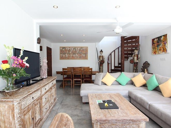 Villa Bewa | 3 bedrooms | Seminyak, Bali #villa #interior #livingroom #bali #holiday