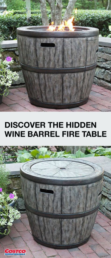 Don T You Just Love Outdoor Funiture That Plays Double Duty That S Why This Hidden Wine Barrel