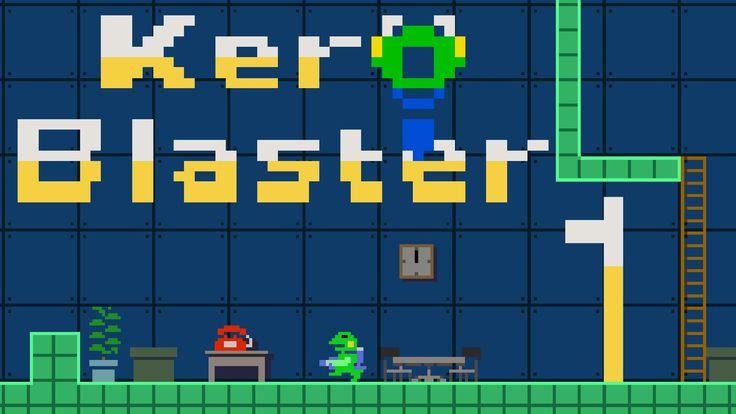 Play as custodian Kermit in Kero Blaster on the PlayStation 4 next week