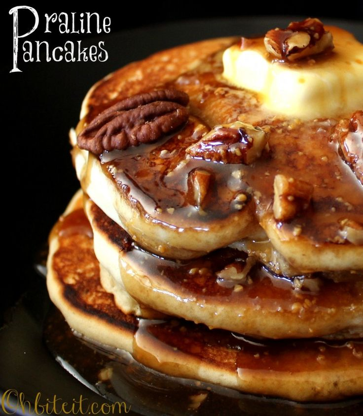 Praline Pancakes