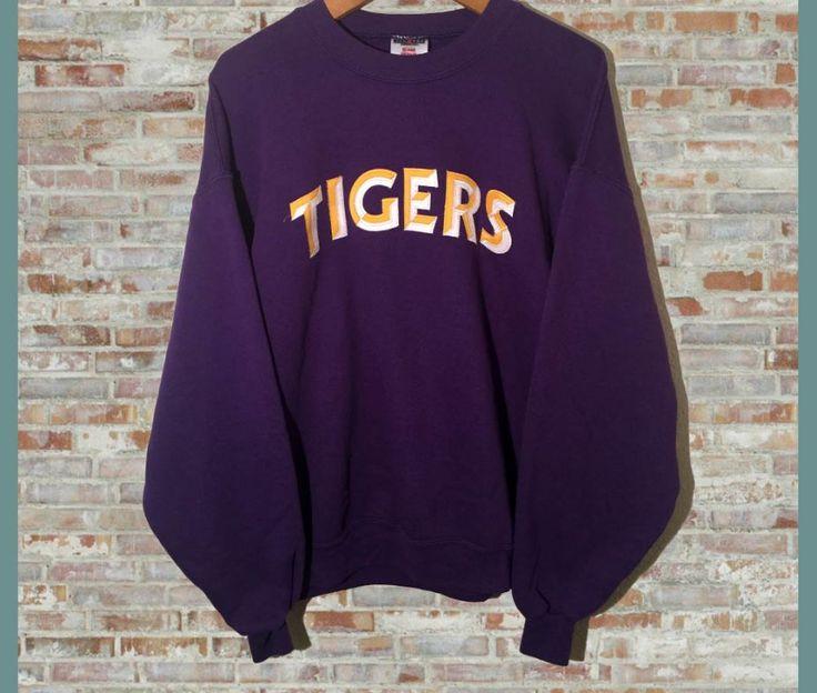 Vintage LSU Tigers Crewneck Sweatshirt