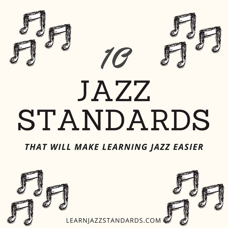 jazz standards [Archive] - Sax on the Web Forum