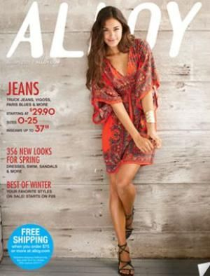 How to Get 23 Different Misses Clothing Catalogs for Free: Alloy Misses Clothing Catalog