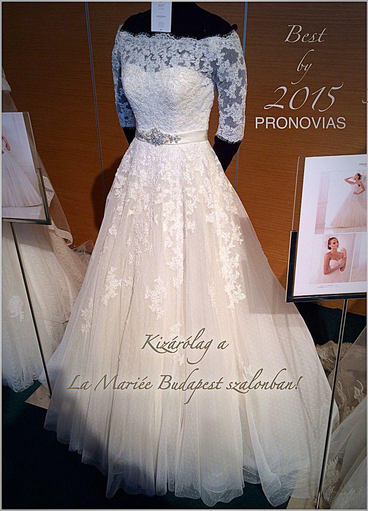 Best esküvői ruha - 2015 Pronovias kollekció - La Mariée Budapest esküvői ruhaszalon