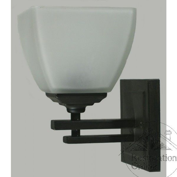 Bronze Waldorf 1 Light Wall Light