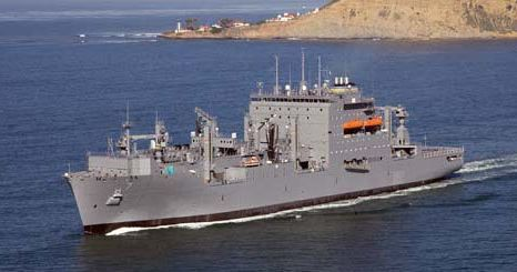 USNS Carl Brashear (T-AKE-7) is a Lewis and Clark-class dry cargo ship of the United States Navy. During Operation Tomodachi, Carl Brashear loaded more than 800 pallets of humanitarian cargo at Sasebo's Juliet pier on March 20 and set sail later that day to join the Navy ships operating off northern Japan. Brashear completed 17 underway replenishment missions, delivering more than 1 million gallons (3,800 m³) of fuel to ships supporting Tomodachi.  Propulsion:Integrated propulsion and ship…