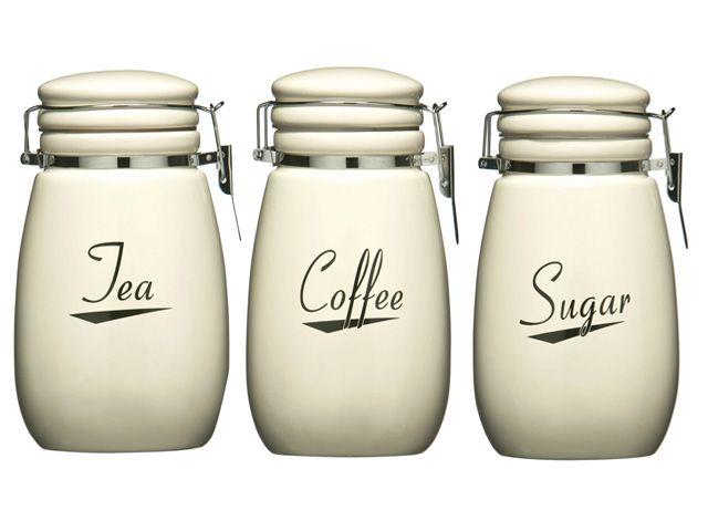 Cookware Dining Bar Food Kitchen Storage Canisters Jars Stuff I Like Pinterest Sugar Bread Storag