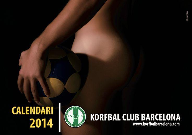 Korfbal Club Barcelona 2014 Calendar