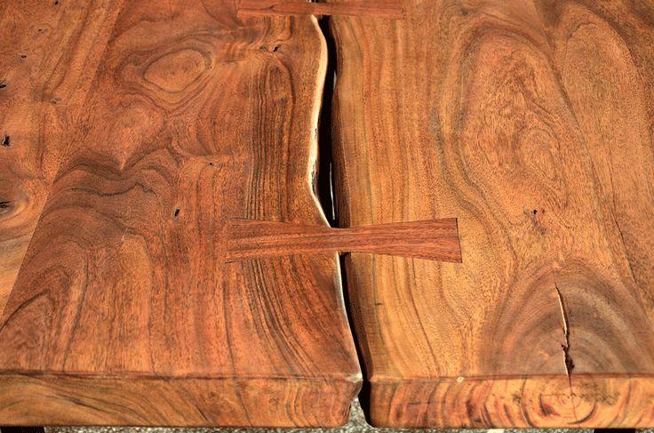 Table à Dîner Loft en Bois d'Acacia