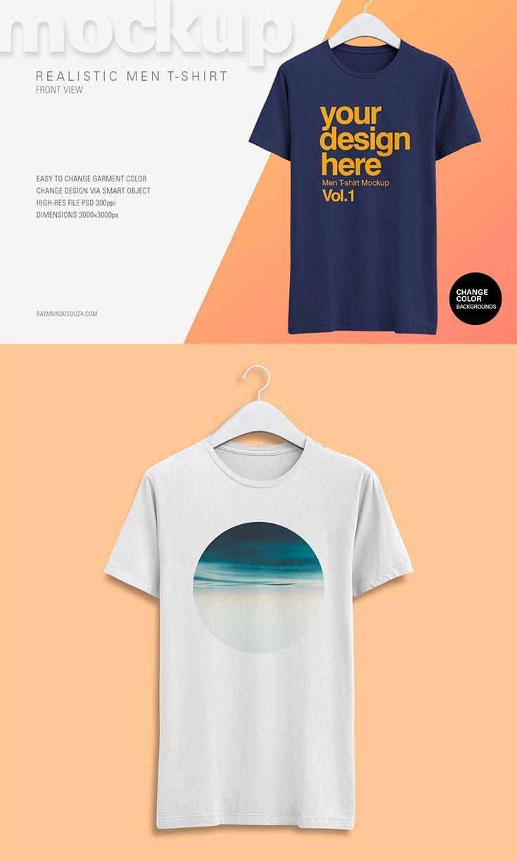 Free Realistic T Shirt Mockup Psd Tshirt Mockup Shirt Mockup Tshirt Mockup Free