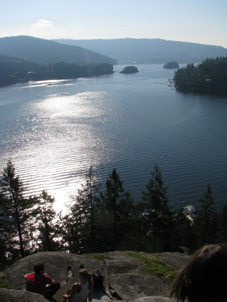 Quarry Rock Lookout in Deep Cove - North Vancouver, BC.  One of my favourite hikes in the lower mainland!