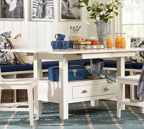 Kitchen Table With Leaf: Ryland Drop Leaf Kitchen Table