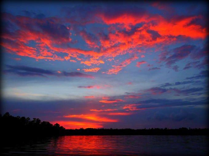 Sand Lake Sunset: Photo by Photographer Paul Pluskwik - photo.net