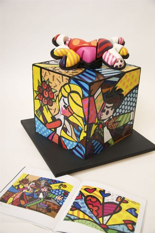 Romero Britto pop