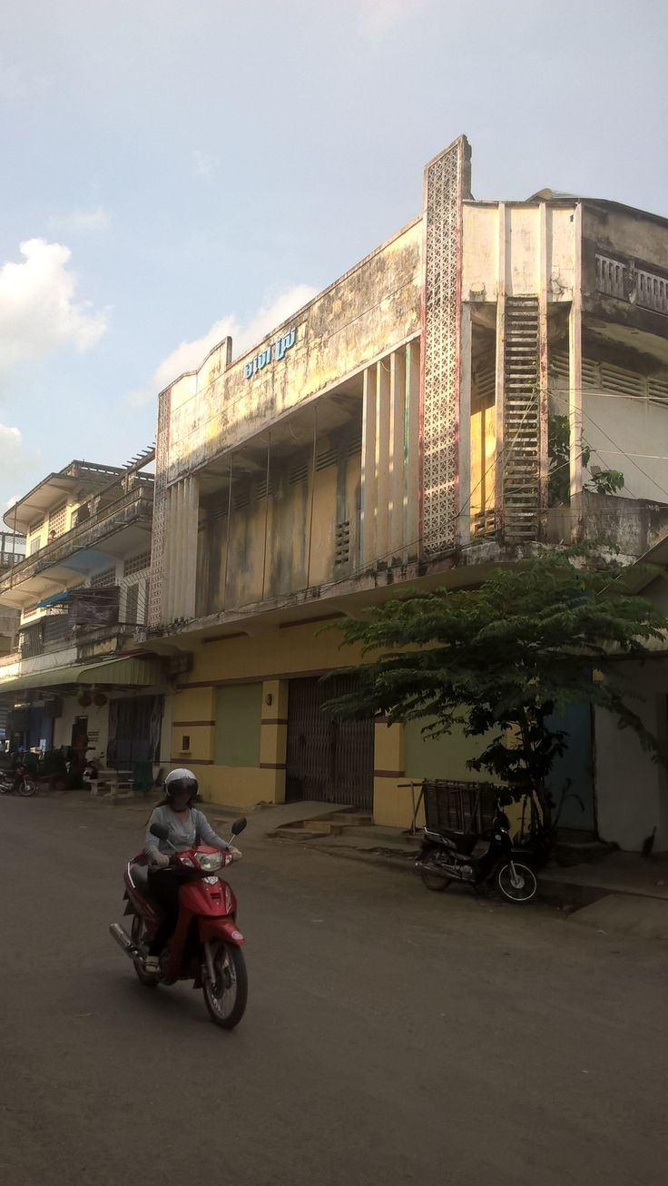 Golden Temple Cinema - Battambang, Cambodia The cinema is currently closed down…