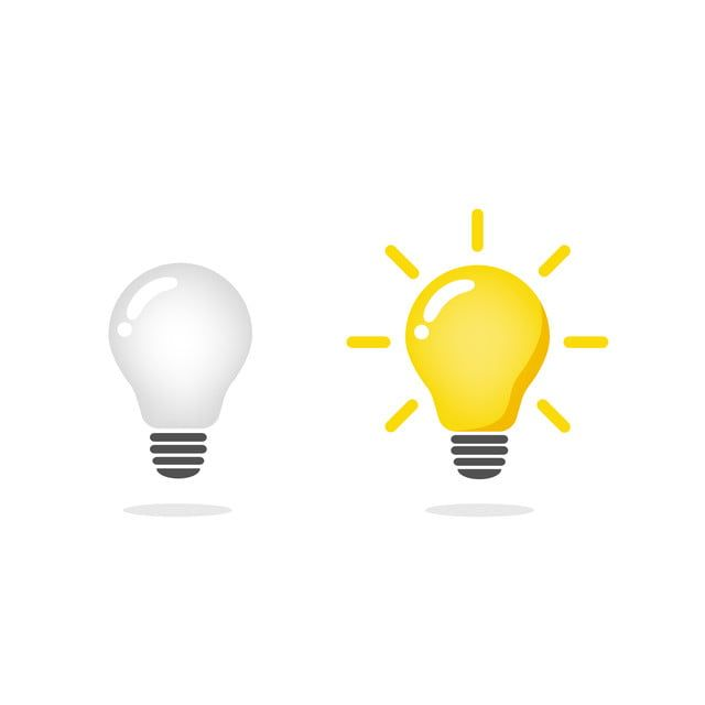 Light Bulb Icon Vector Light Bulb Ideas Symbol Illustration Vector And Png Trong 2020