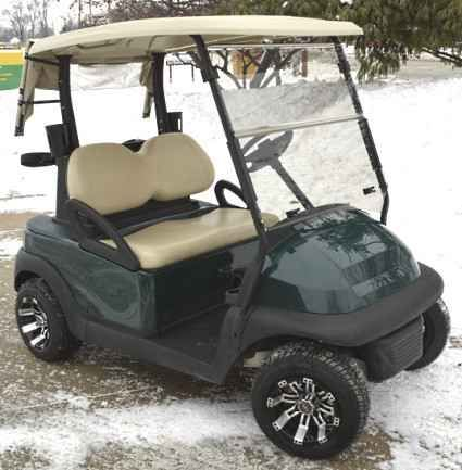 New 2012 Club Car Green Precedent Electric 48v Golf Cart Custom Rims ATVs For Sale in Illinois. 866-606-3991 Looking to travel the golf course in style? Search no more! This luxurious Hunter Green Club Car Precedent Electric 48v Golf Cart w/ Custom Rims & Tires offers you a stylish comfortable ride around the course. This high quality electric golf cart has so many great features, it''s too hard to pass up. Take a look below and you''ll notice that you won''t find a better deal than this…