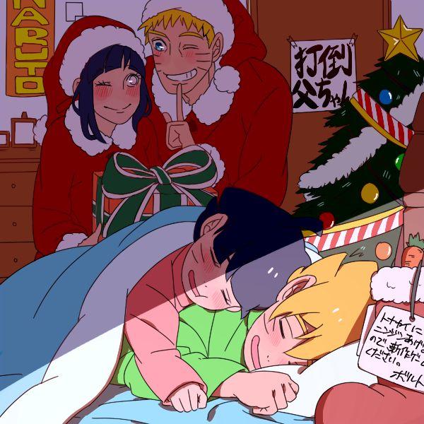 Christmas shippuden hentai