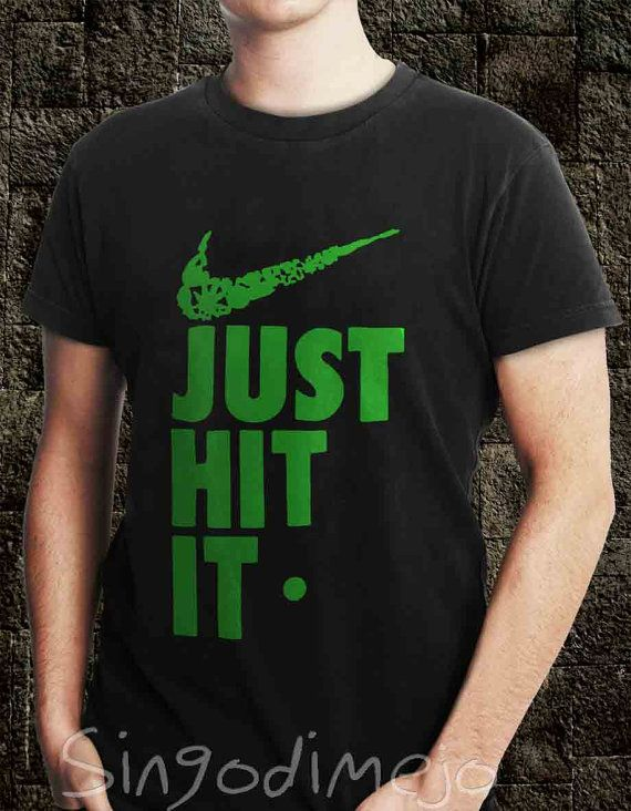 T-Shirt just hit it Nike Parody Pipe Weed 420 419 Humor Bong Pinch,Funny T shirt ,Awesome T shirt SINGODIMEJO on Etsy, $7.00