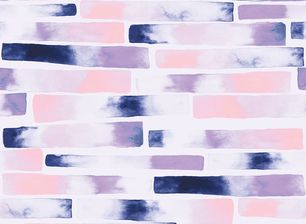 Pink Stripes by Katya Rozz - Seamless raster pattern created using watercolor painted stripes