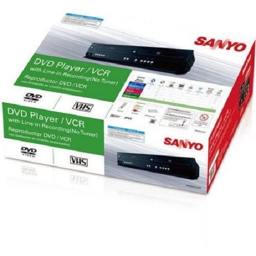 NEW Sanyo FWDV225F Combination DVD / CD VHS VCR Player Line in Recording Remote #Sanyo