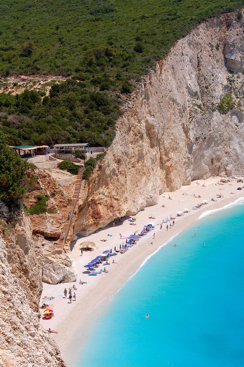 Greece | Porto Katsiki beach in Lefkada, Ionian islands