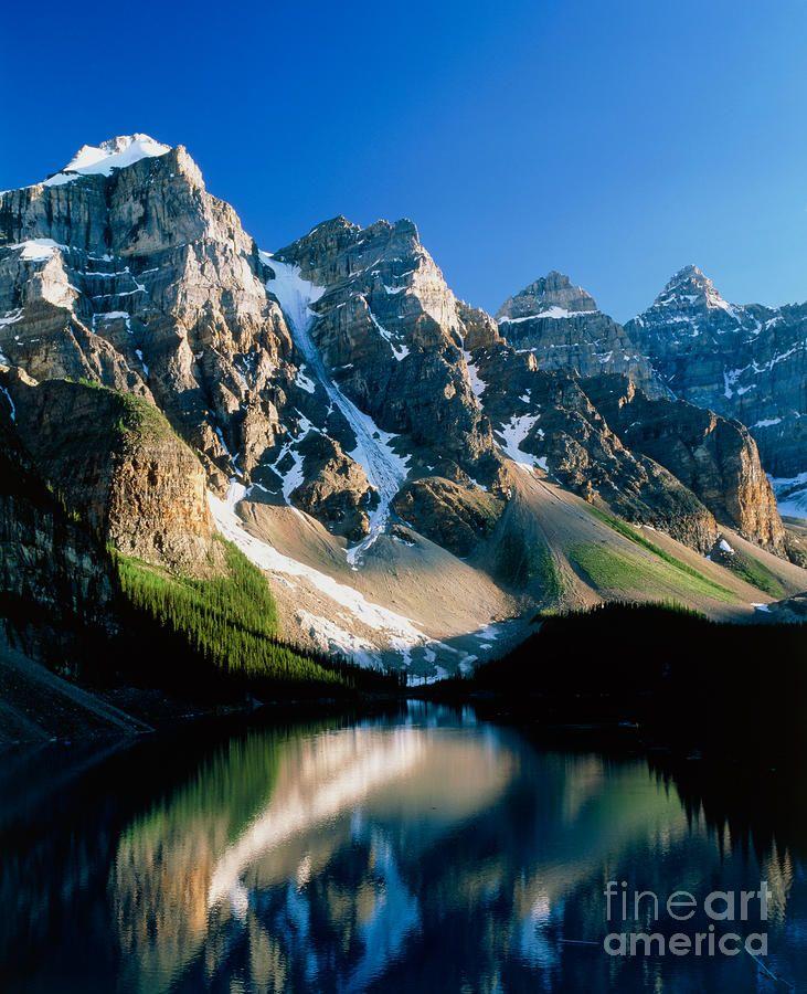 Moraine Lake, Banff National Park, Alberta, Canada @TravelingCanucks thanks for joining #PinUpLive tonight!