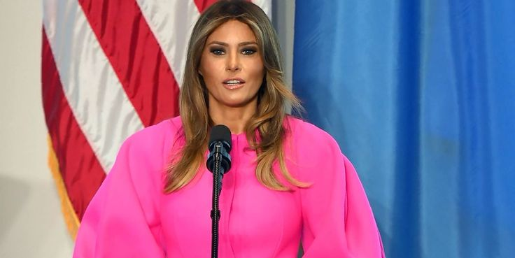Melania Trump Takes on Bullying in Her First UN Speech  If Donald doesn't mess it up for her. First objective...all USA people under 18 block the real Donald Trump twitter feed...maybe we just say all ...  I think it's very sad, we have a First Lady that's blind and a prez that's deaf.