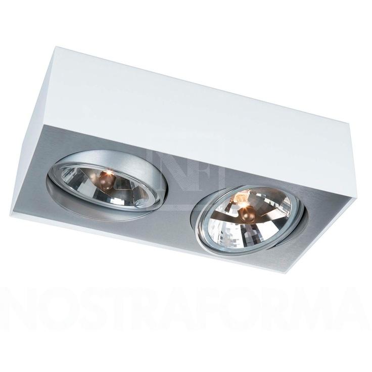 Lirio by Philips Bloq 2 - teilige Deckenleuchte » Design Leuchten, Lampen & Möbel bei NOSTRAFORMA