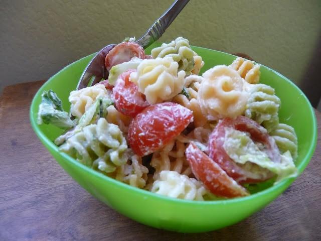 Easy blt pasta salad recipe