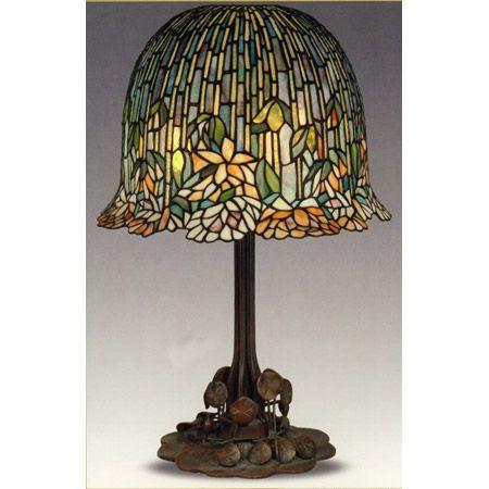 Dale Tiffany TT10515 Tiffany Lotus Table Lamp $2,499.99