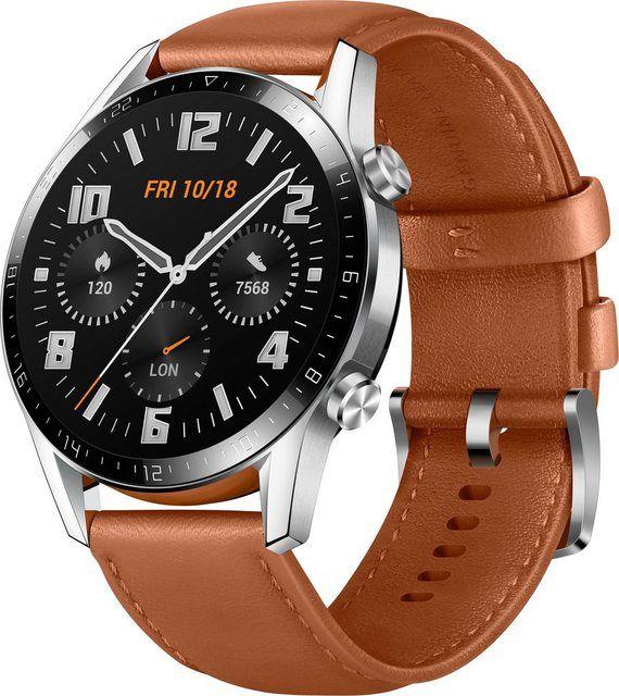 Gt 2 Latona B19v Classic Smartwatch 3 53 Cm 1 39 Zoll Rtos Smartwatch Braun Werden Und Zoll