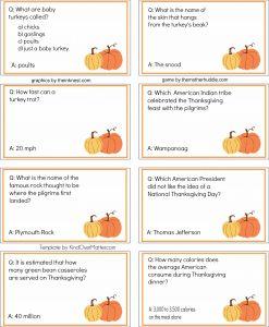 Free--Thanksgiving Trivia game