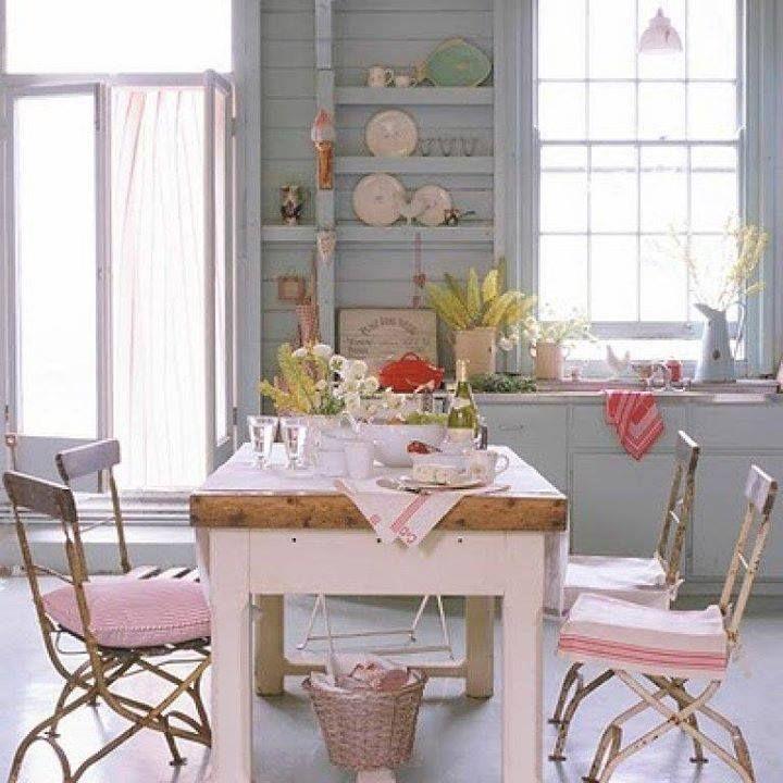 Supérieur Deco Maison Shabby Chic #1: Déco Shabby Chic Pour La Cuisine | Décoration Maison