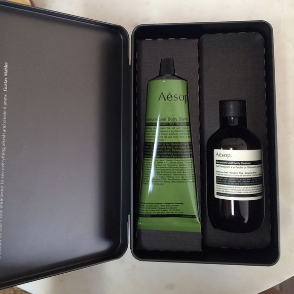 Aesop gift box - body balm & body cleanser Completely new! Great gift! Aesop Other