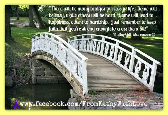 Savor the journey through good times, and hard times! Look for the silver linings!