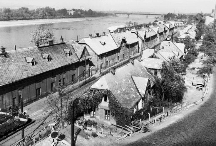 1970, Újpesti rakpart, a Pozsonyi út folytatása