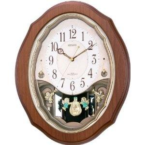 Danish Design Watches - CITIZEN (シチズン) 掛け時計 パルミューズM478 電波時計 毎正時メロディ6曲 4MN478-006 | 最新の時間センター