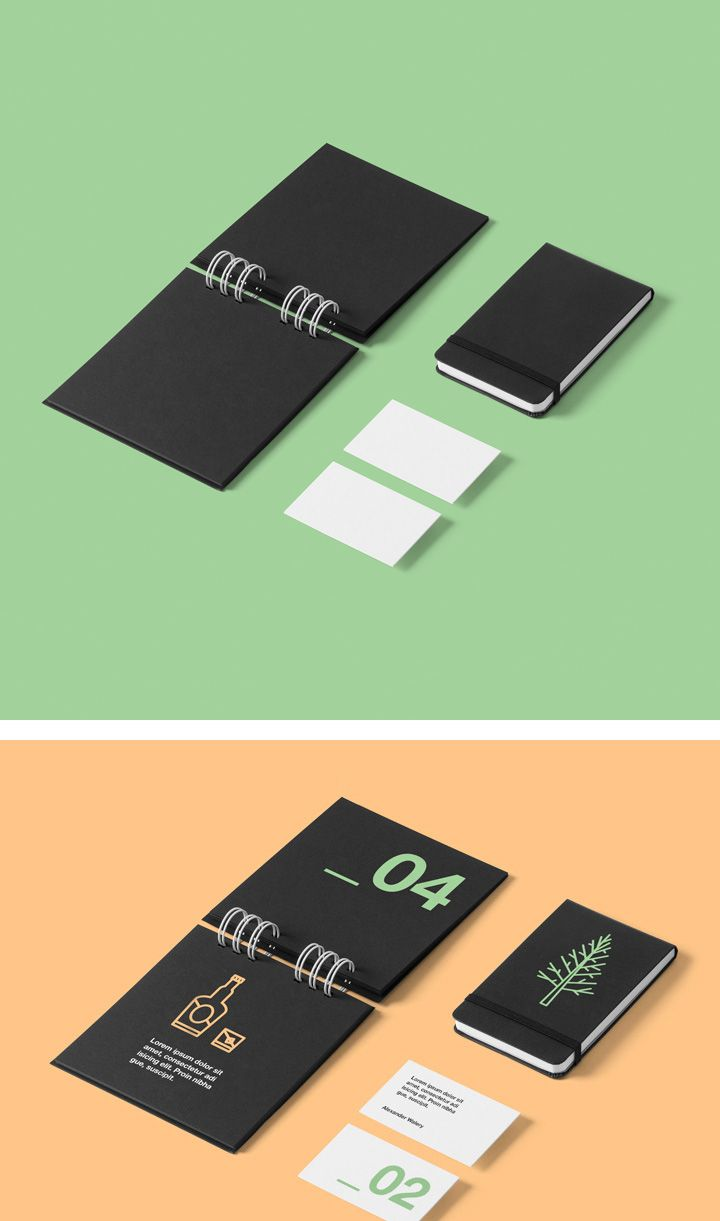 Stationery mockup #mockup #free #psd #photoshop #stationery #branding #identity #letterhead #business #card #notebook