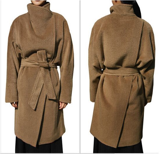 Women Elegant Coat Fashion Long Overcoat