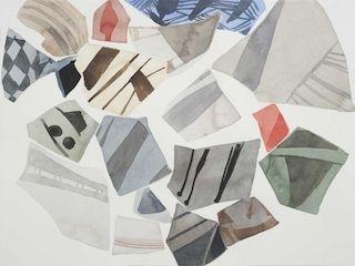 Baum, _Checks and Mates_ (2010), watercolor
