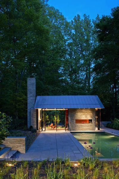 Garden Pavillion Pool House