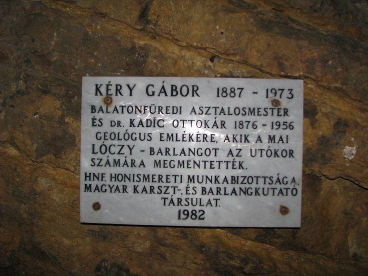 Kéry Gábor emléktábla (Balatonfüred közelében 0.2 km) http://www.turabazis.hu/latnivalok_ismerteto_5122 #latnivalo #balatonfured #turabazis #hungary #magyarorszag #travel #tura #turista #kirandulas