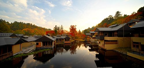 Japan: Just 70 minutes by bullet train from the Tokyo Metropolis, you find yourself in HOSHINOYA Karuizawa, where you can totally relax and rejuvenate.