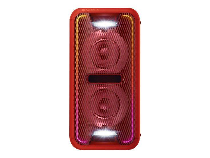 Sony GTK-XB7 - Audiosystem - rød   Computersalg.dk : Alt inden for bærbare, computere, tablets, ipad, grafikkort, servere, kamera, gopro, gps, print, iphone. Altid de rigtige priser!