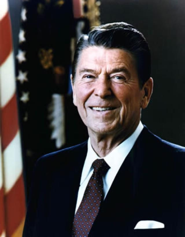 Ronald Reagan, Fortieth President of the United States - Courtesy Ronald Reagan Library
