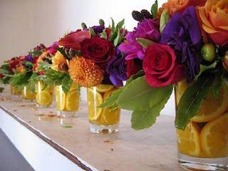 Decoração de festa, arranjo de flores, party decor, feijoada glam