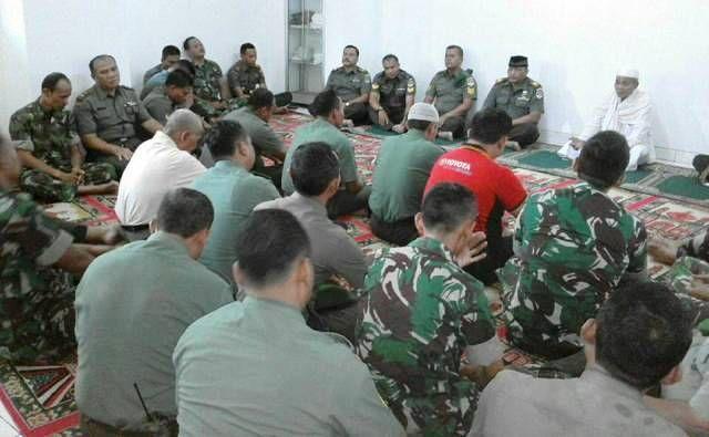 Kelancaran Pelaksana KTT OKI Kodim 0501 Jakarta Pusat BS Gelar Doa Bersama