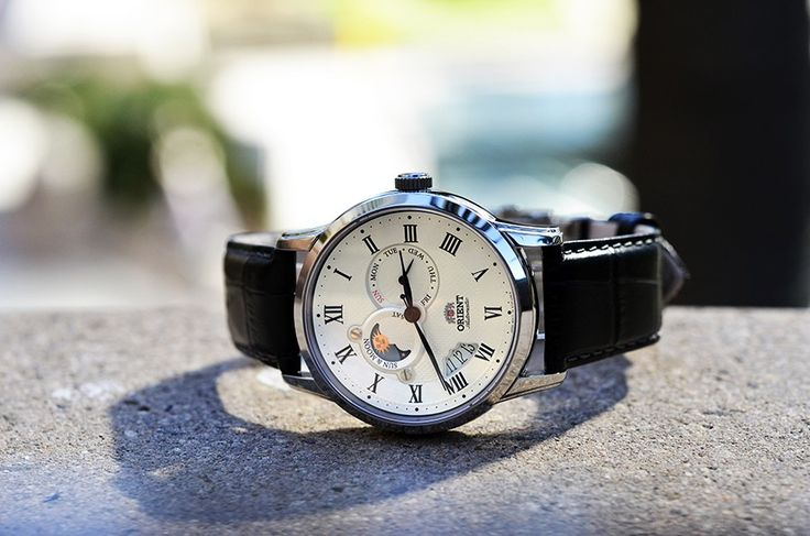 Check out the new Sun and Moon in white! http://orientwatchusa.com/et0t002s