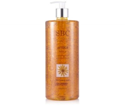 SBC Arnica Skincare Gel SBC Arnica Skincare Gel Combining traditional herbal therapy with exceptional relieving care, Arnica Skincare Gel is ideal for adults and children. This dynamic gel absorbs effortlessly into the skin  http://www.MightGet.com/january-2017-12/sbc-arnica-skincare-gel.asp